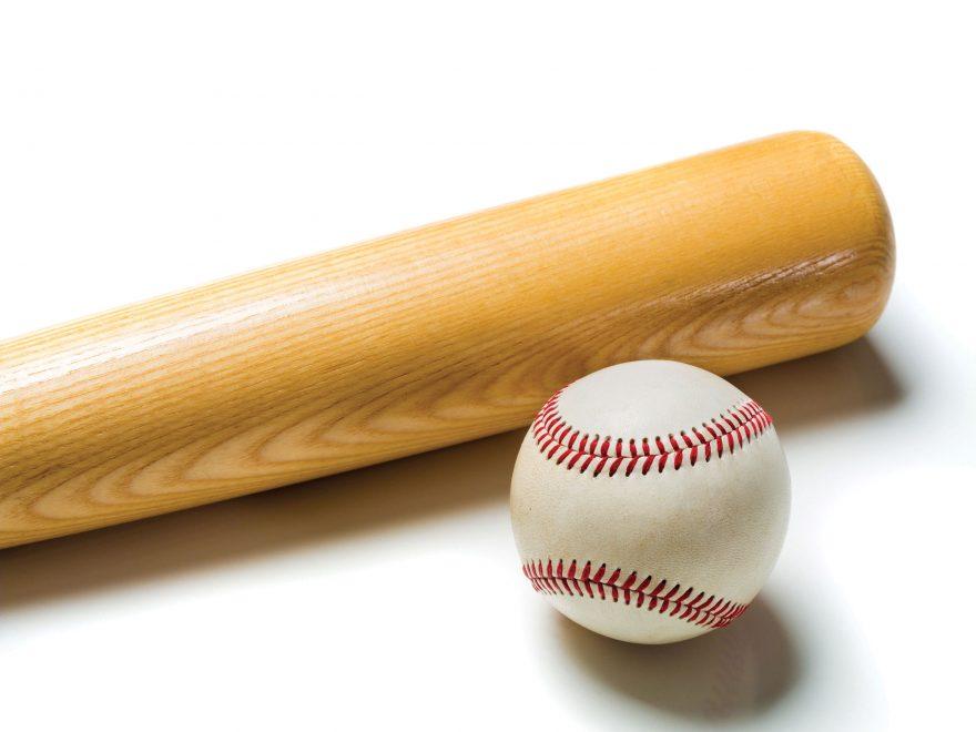 Baseball Bat & Ball