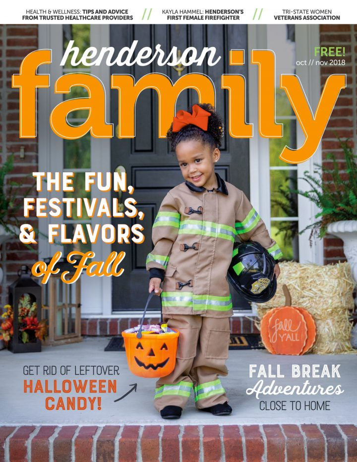 Henderson Family Oct / Nov magazine cover