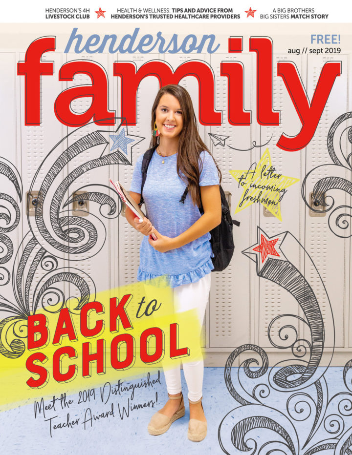 Henderson Family Magazine August/September 2019 Cover